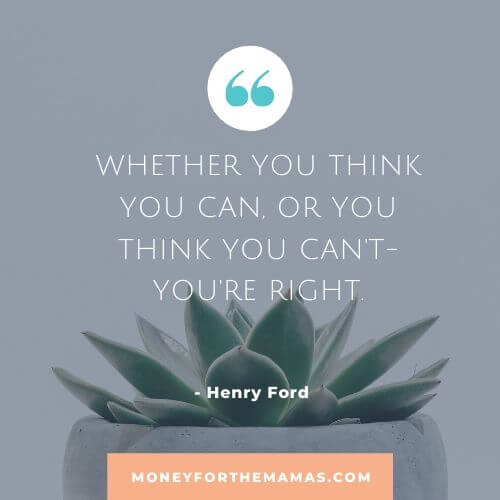 Henry Ford quote on mindset