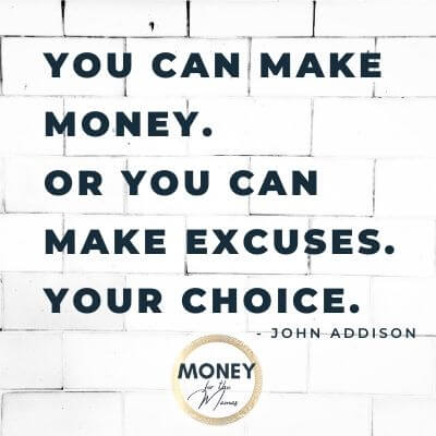 John Addison quote on making money