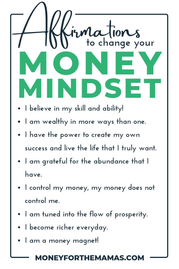positive money affirmations