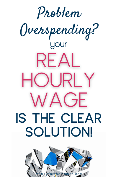 how your real hourly wage is the key to saving money