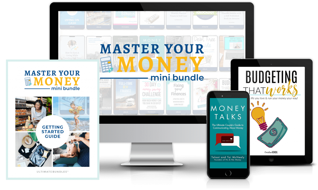 Master Your Money Mini Bundle mock up