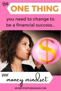 Money mindset for financial success