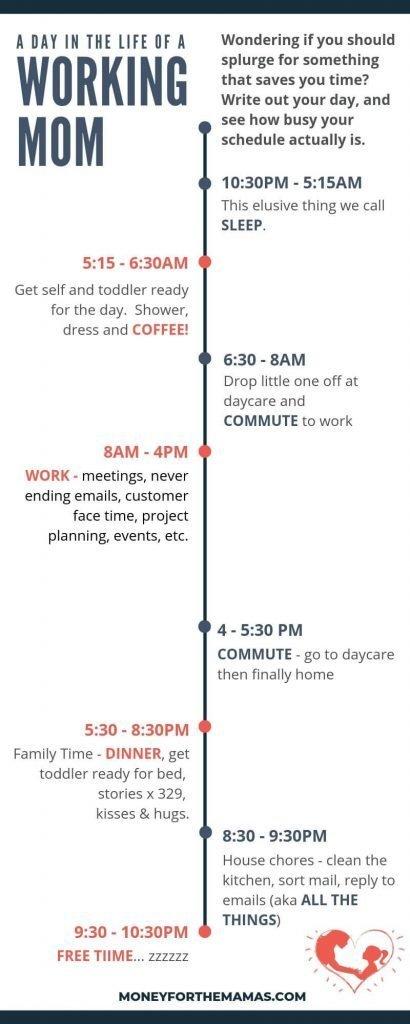 working mom schedule