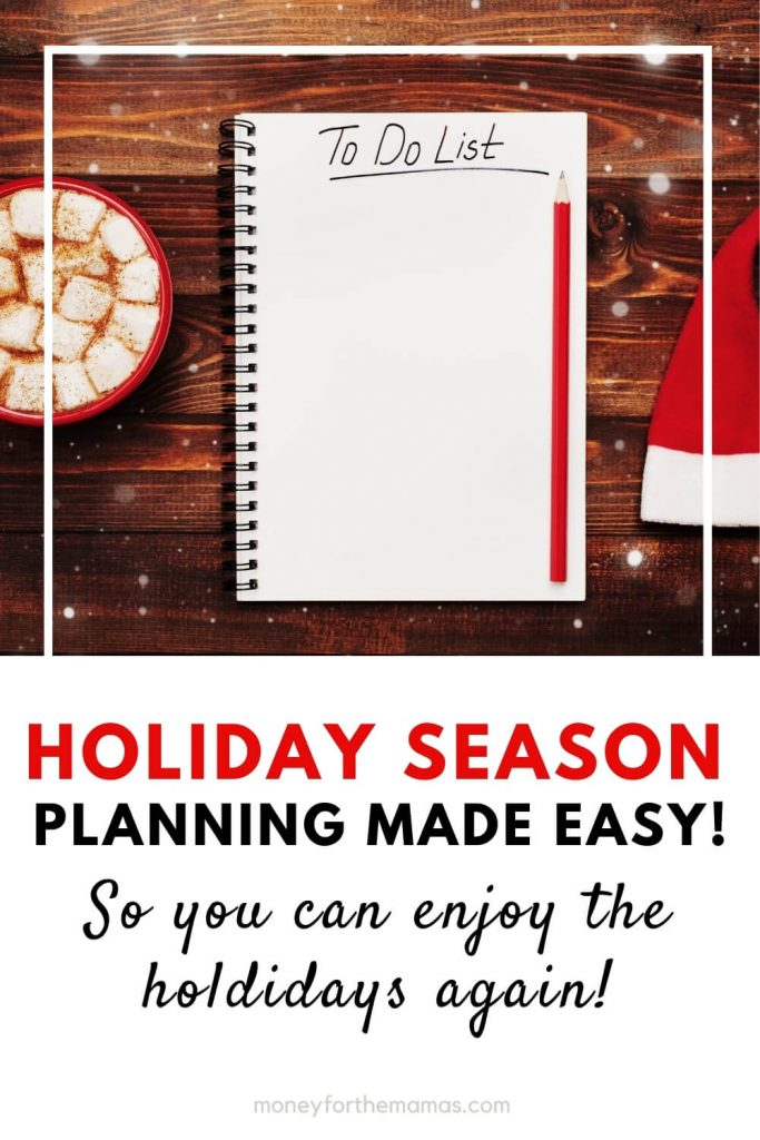 holiday season planning made easy
