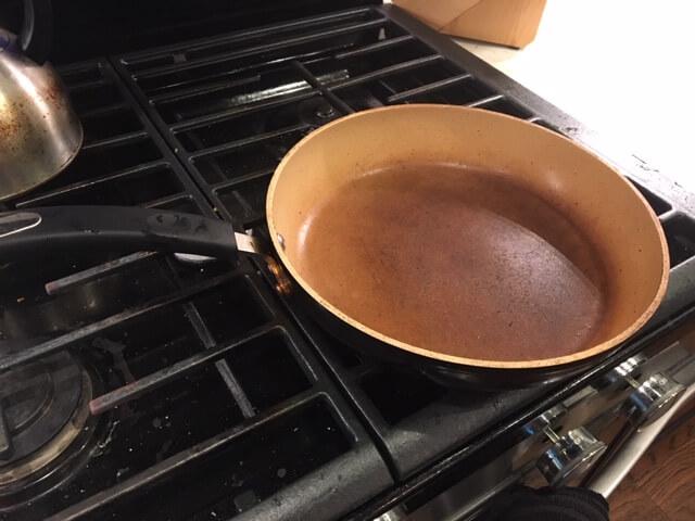 stone earth frying pan