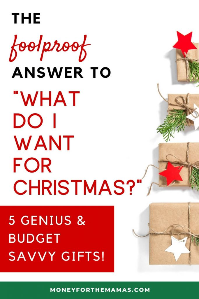 the foolproof answer to what do i want for christmas