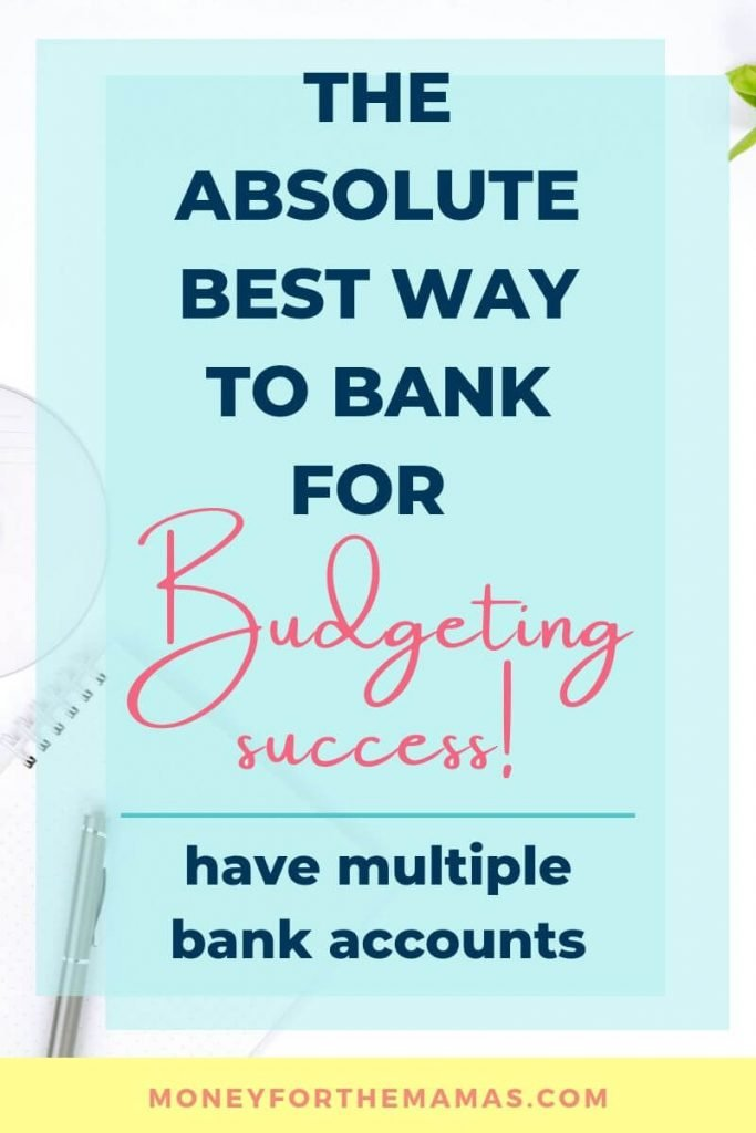 Best way to bank is with multiple bank accounts
