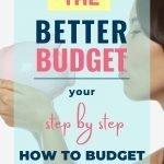 It's a Better Budget worksheet