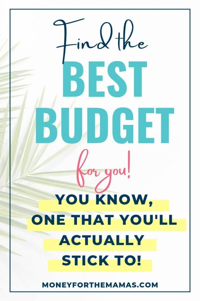 Best Budgeting Method for You