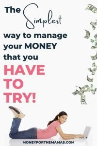 simplest way to manage your money is with multiple bank accounts