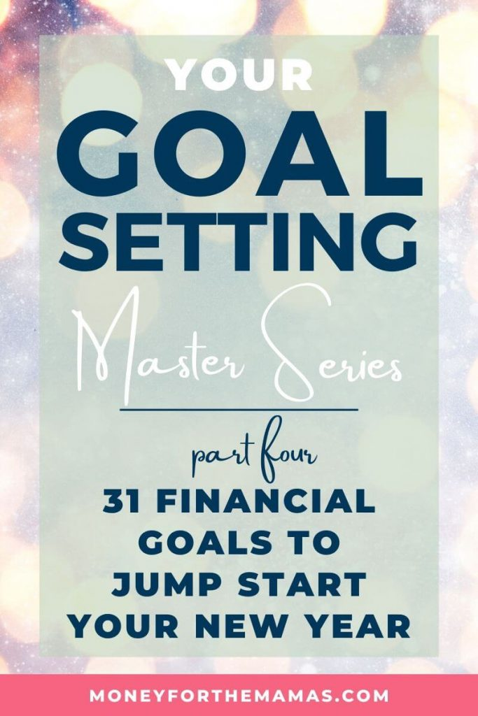 31 days of financial goals