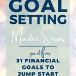 31 days of financial goals