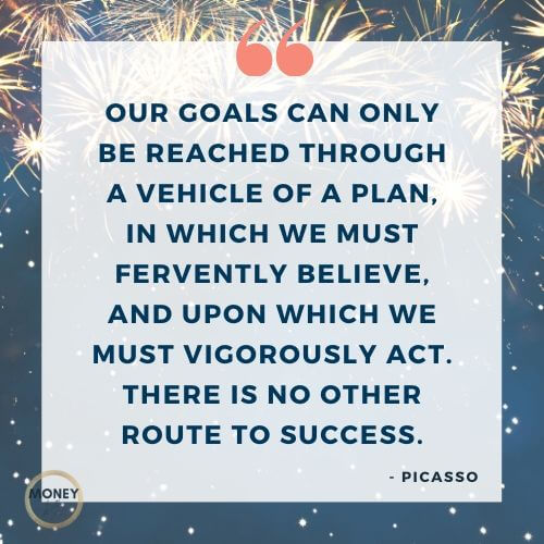 Picasso quote on planning
