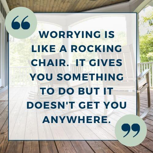 quote on worrying