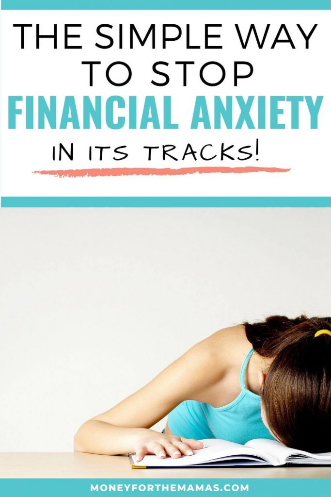 How to dump financial anxiety