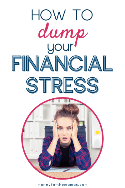 how to dump your financial stress