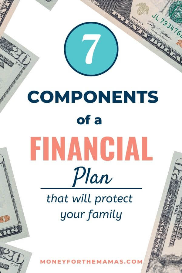 7 components of a financial plan