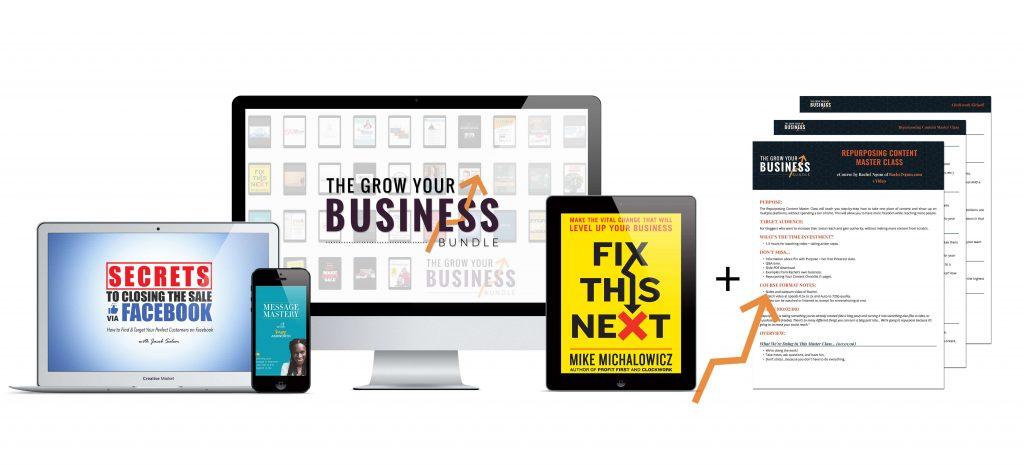 Grow Your business Ultimate Bundle mock up