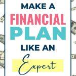 How to make a financial plan like an expert!