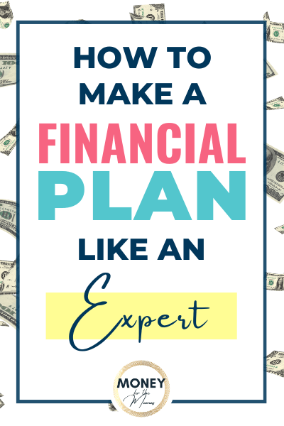 How to make a financial plan like an expert!