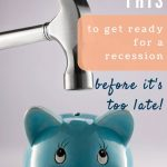do this before a recession