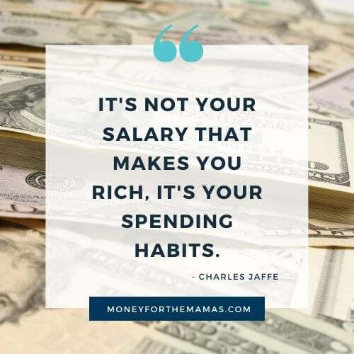 Charles Jaffe quote on Spending Money