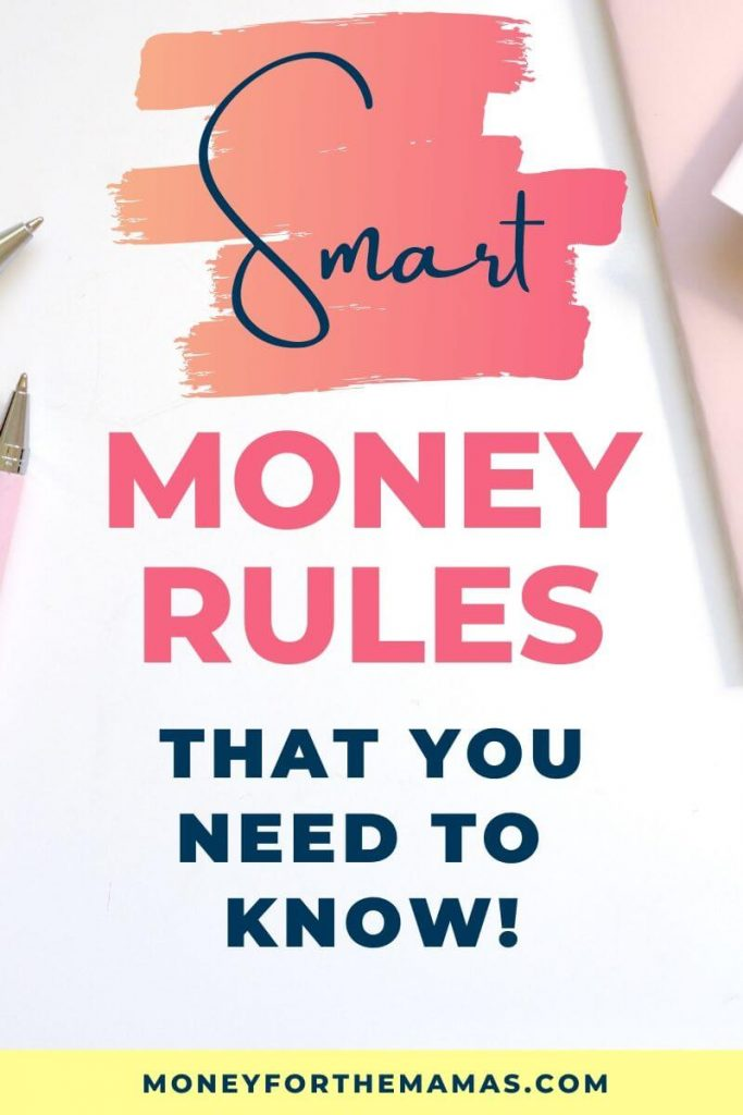 Smart Money Rules