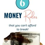 the 6 money rules that you can't afford to break