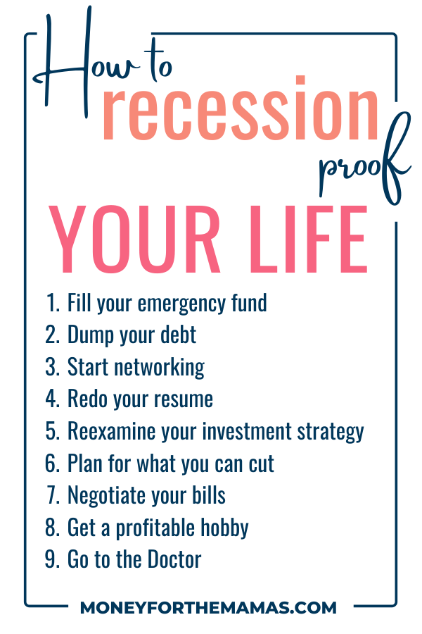 how to recession proof your life