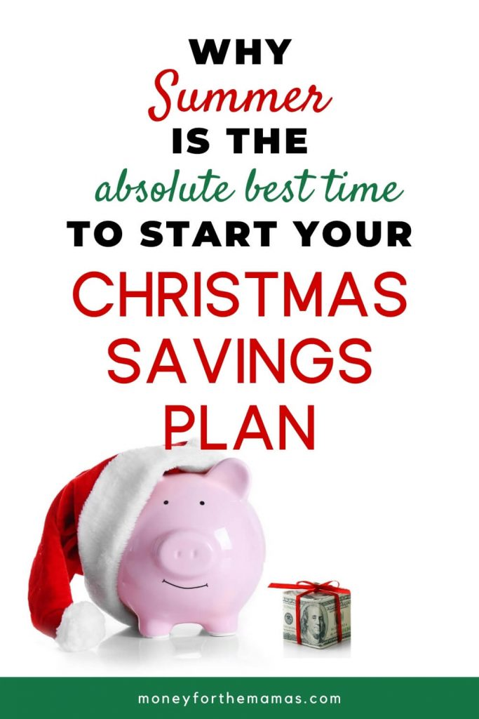 why summer is the best time to start your christmas savings plan