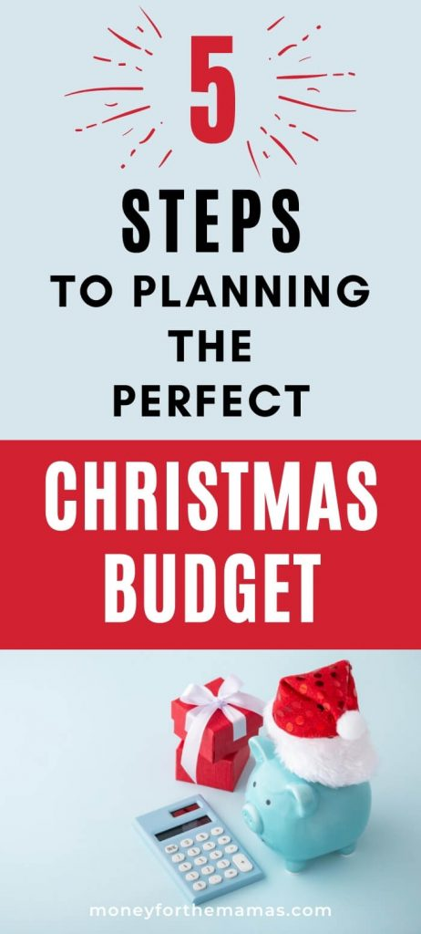 5 steps to a perfect Christmas Budget