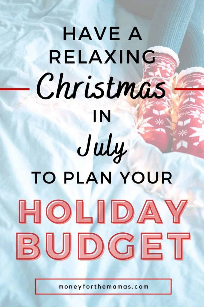 have a relaxing Christmas in July