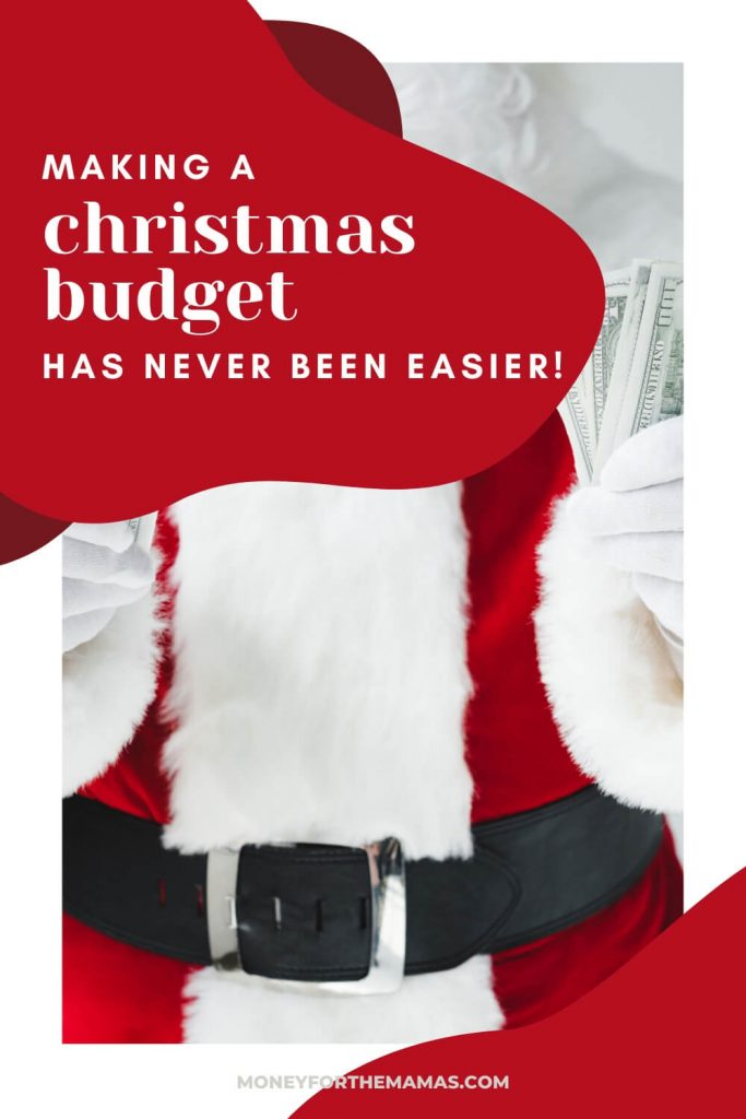 your christmas budget has never been easier
