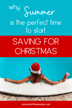 mini christmas in the pool