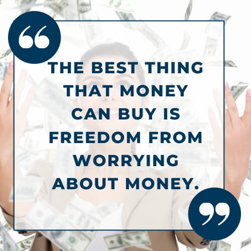 money advice quote