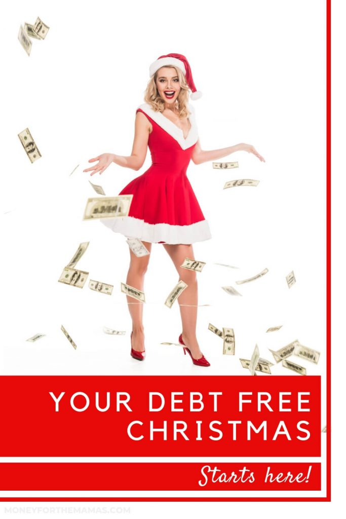 debt free christmas budget starts here