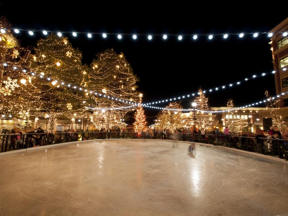 christnmas ice skating