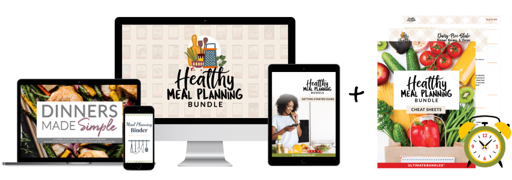 health meal planning bundle