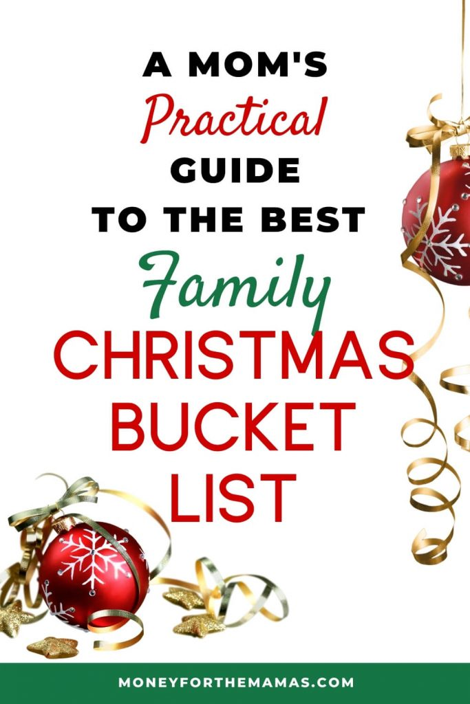 A mom's guide to the best family Christmas bucket list