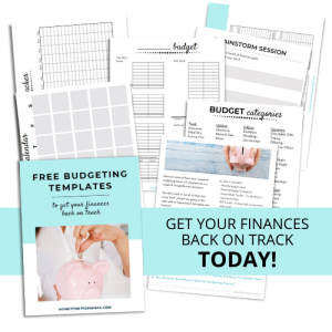 free budgeting templates
