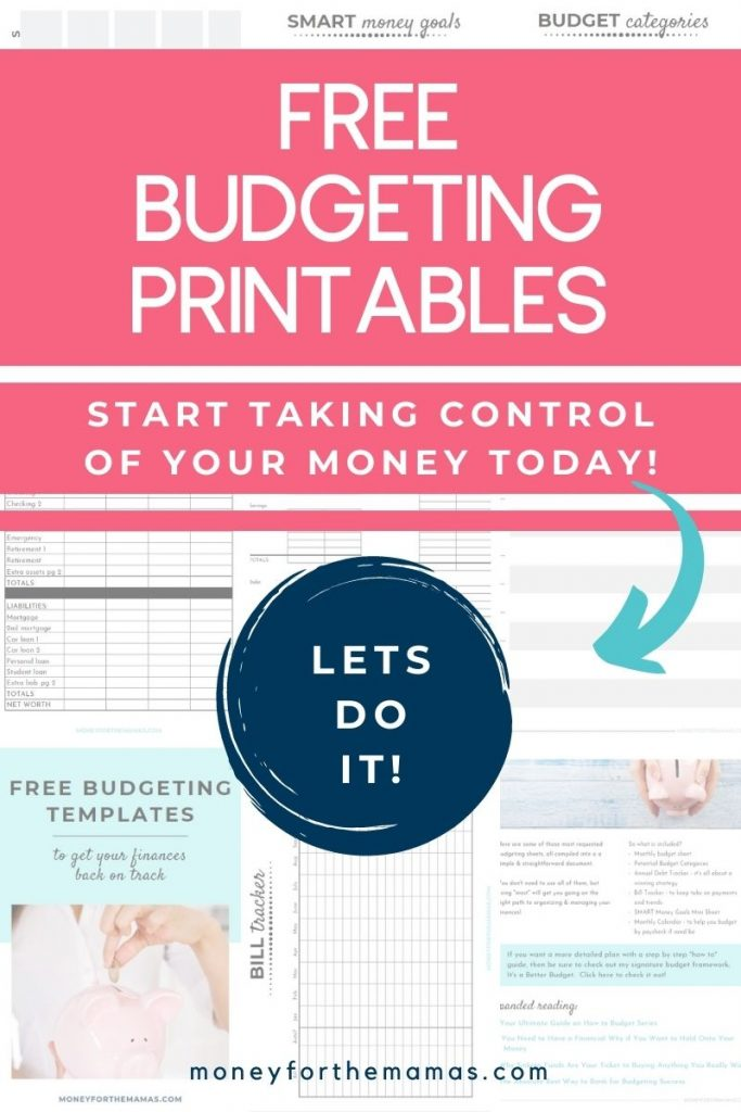 free budgeting printable