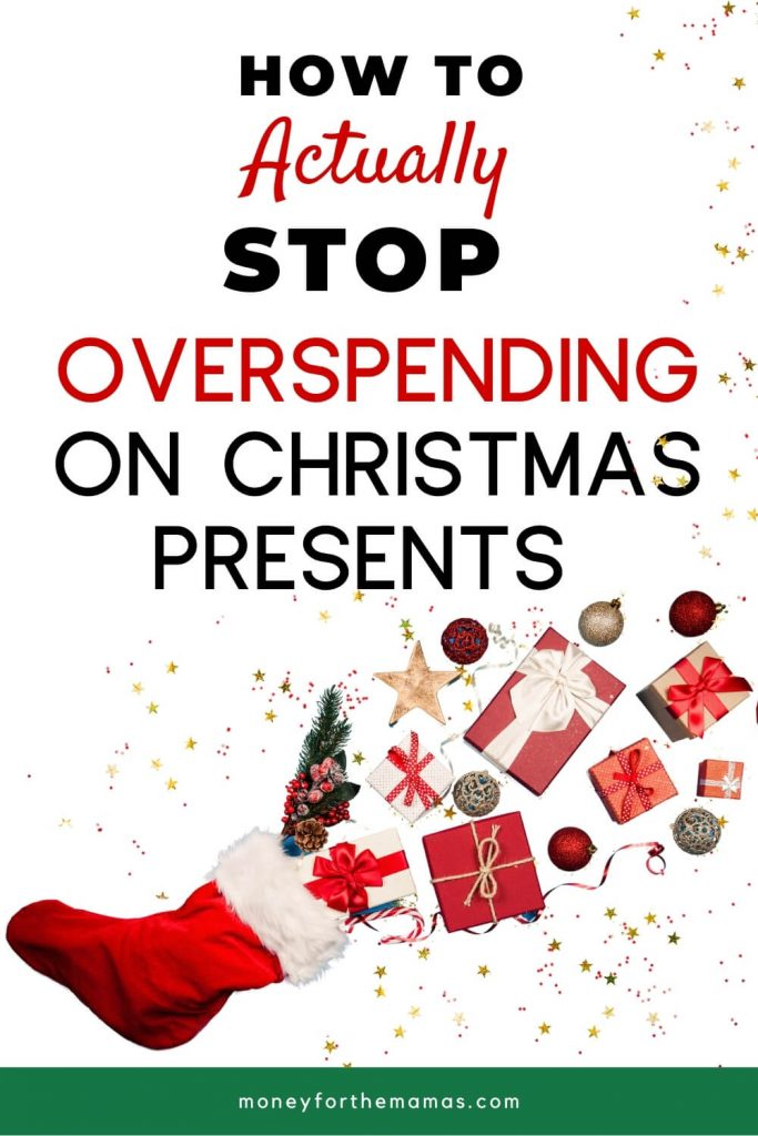 how to actually stop overspending on christmas presents