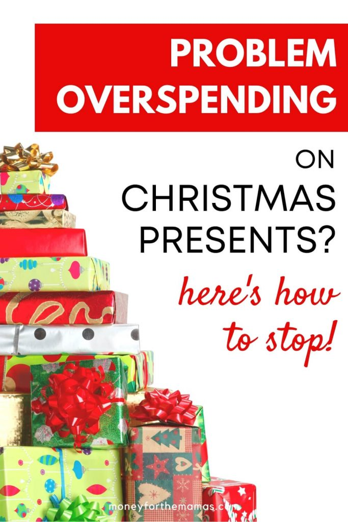 problem overspending on christmas presents?