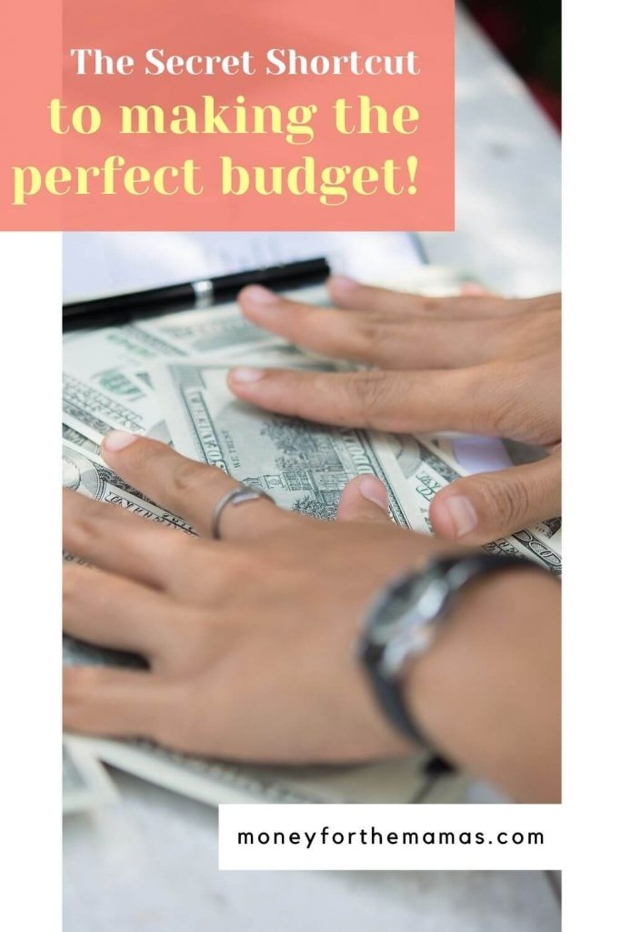 the secret shortcut to making the perfect budget