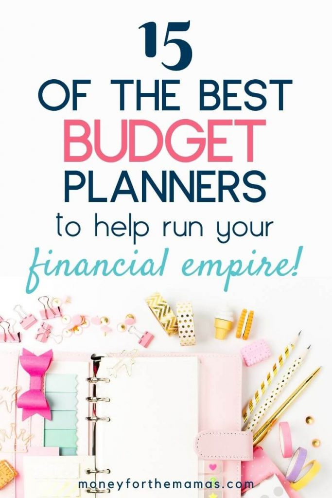 15 of the best budget planner to help run your financial empire