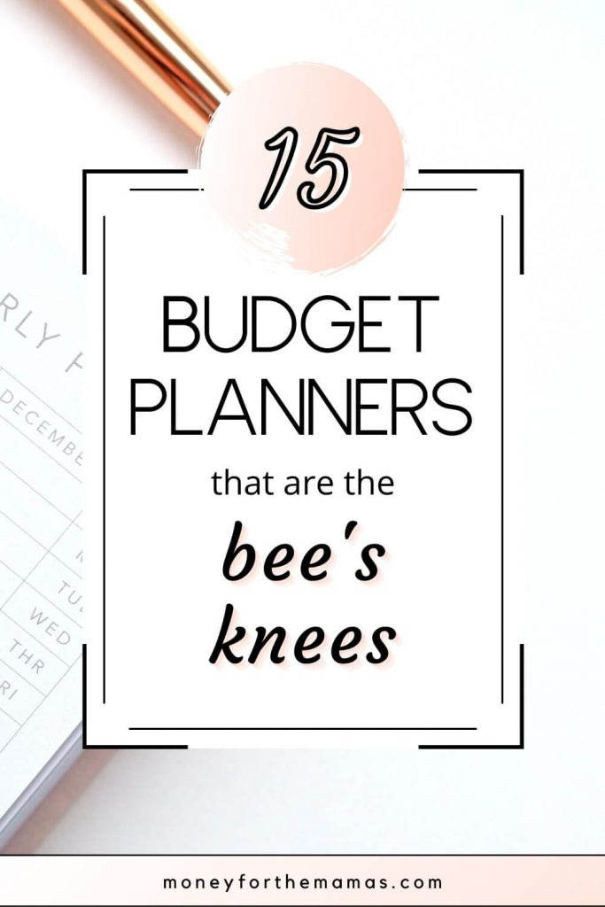 15 best budget planners that are the bee's knees