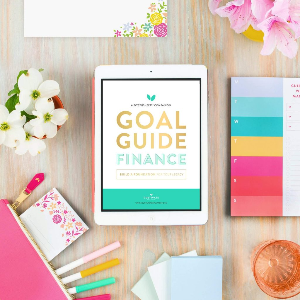 financial goal guide