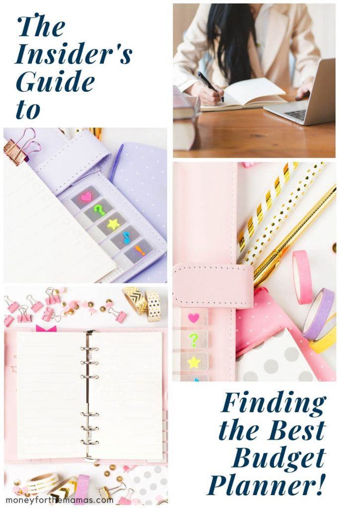 the insider's guide to finding the best budget planner