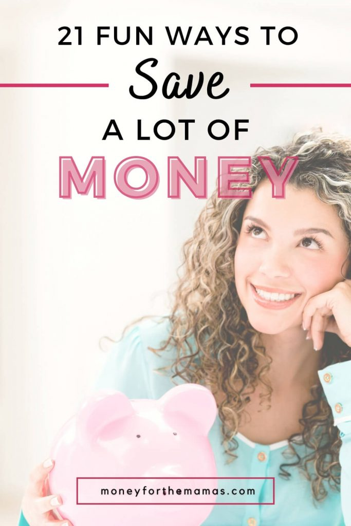21 fun ways to save money with money saving challenges