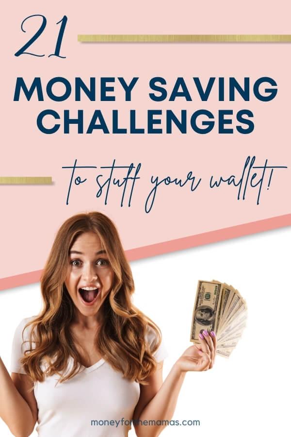 21 money saving challenges